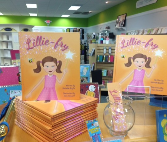LillieFry Display