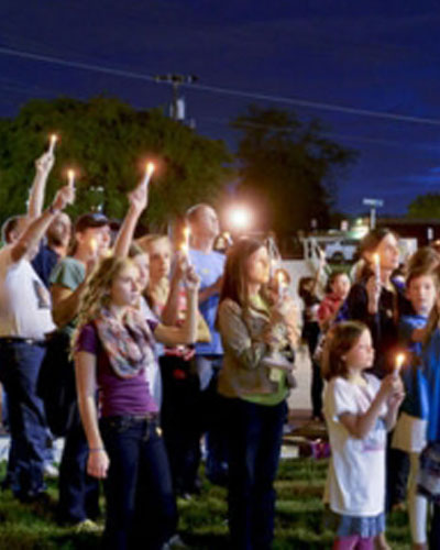 Lillie's Friends Childhood Cancer Awareness Events Candlelight Vigil